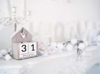 12月31日を表す置物