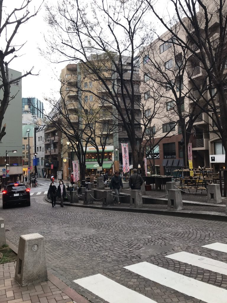 麻布十番の街